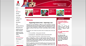 The Anglia Care Trust website