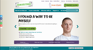 The Samaritans website