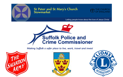 Stow market town logos